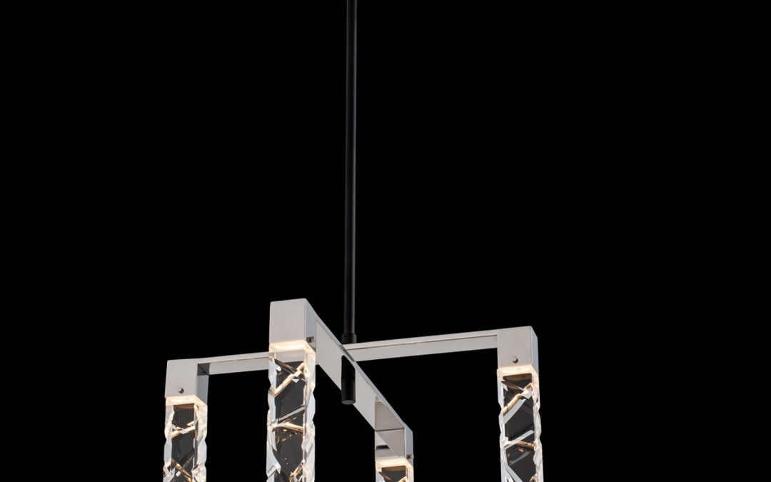 Serres 4 Light LED Chandelier