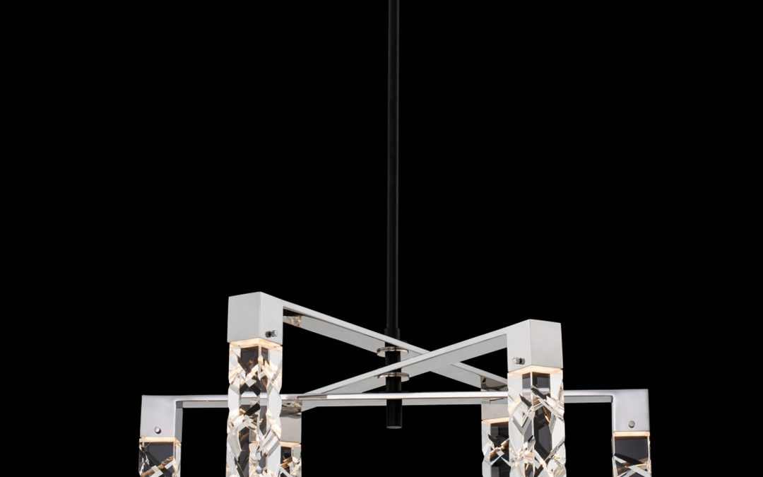 Serres 6 Light LED Chandelier