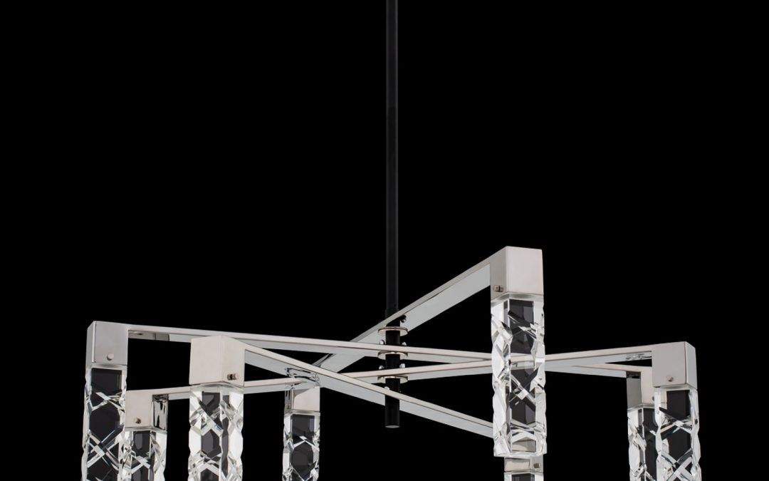 Serres 8 Light LED Chandelier